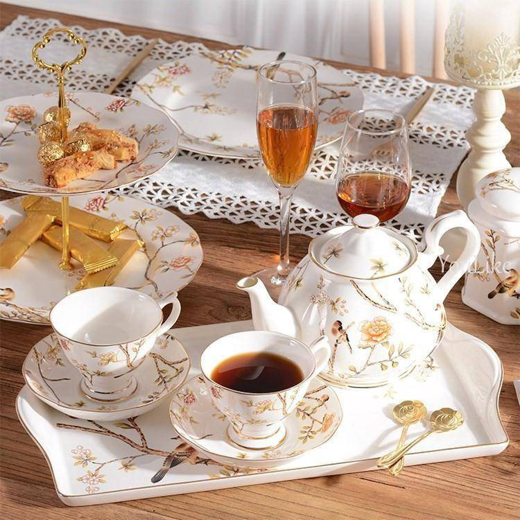 007be6042e6 Coffee cup tea cup tea set afternoon tea ceramic cup S#BkM4 English cup  saucer