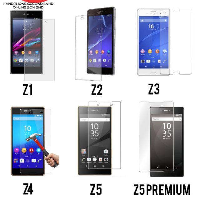 Z1,Z2,Z3,Z4,Z5,Z5 Premium Tempered Glass + Transparent Case