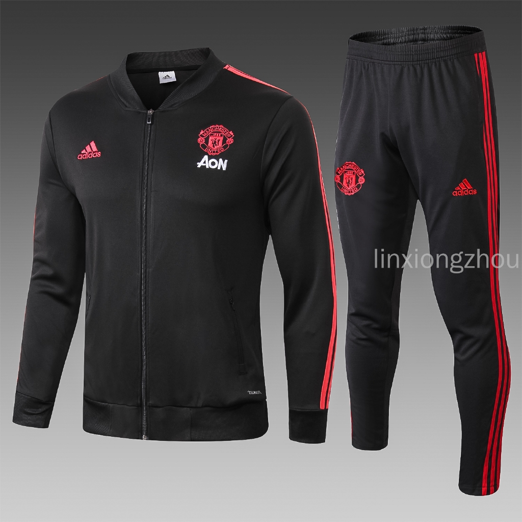 new product 525da 87b87 Top Quality 18/19 Manchester United Football Jersey Jacket Set