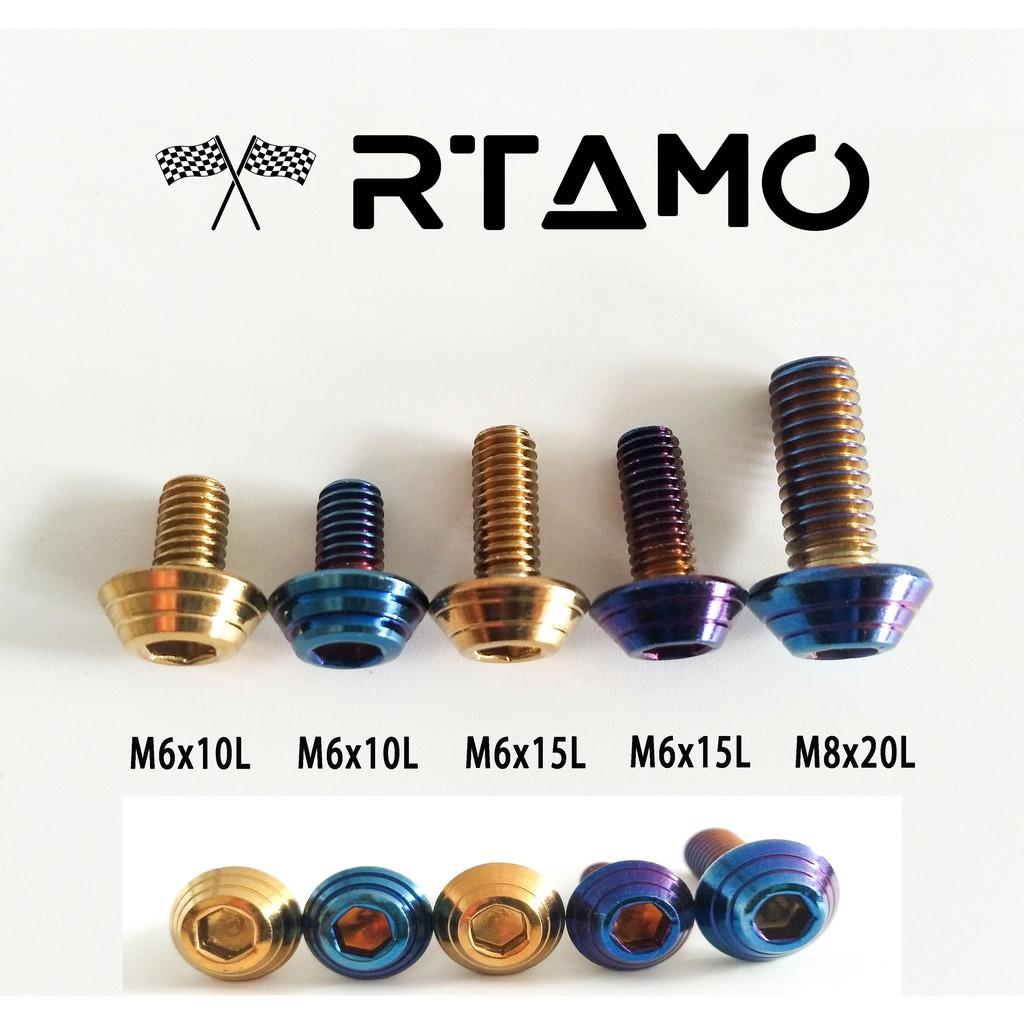 M8 Aluminum alloy screw hex socket cap head bolt hexagon screws 15mm-65mm Length
