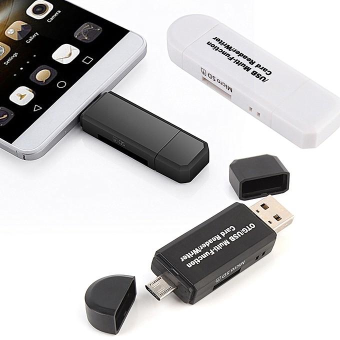 Reader Micro SD/SD Card/USB Phone Reader TF High Speed 2 0 Card Reader