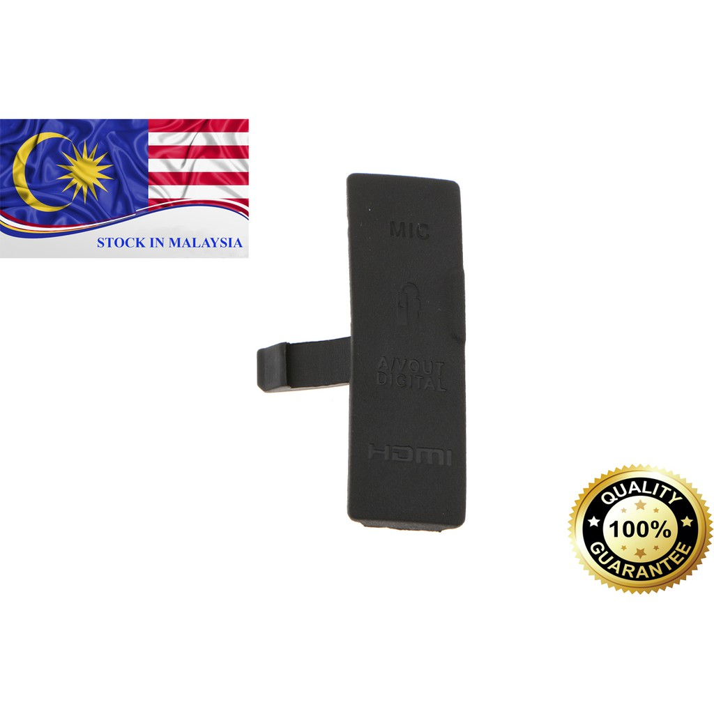 USB / AV OUT/ HDMI/ MIC Rubber Cover For Canon EOS 550D (Ready Stock In Malaysia)