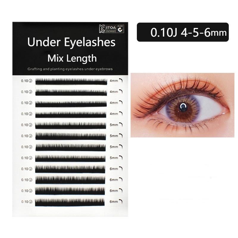 d7296199037 LAGEE high-quality mink eyelash extension individual eyelashes 2 cases/set  | Shopee Malaysia
