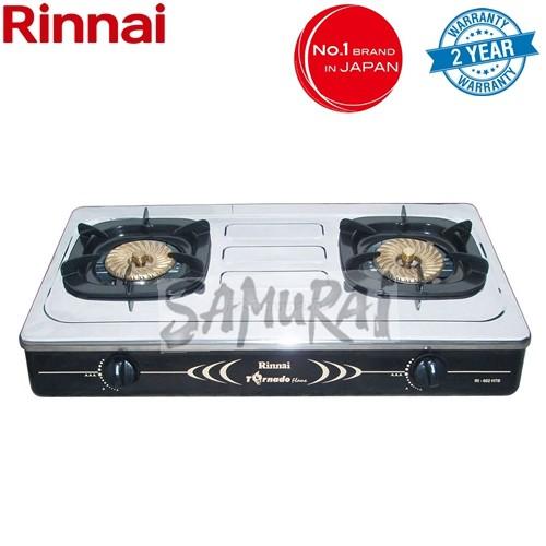 RINNAI TABLE GAS STOVE 3.7KW FIRE RI602HTB