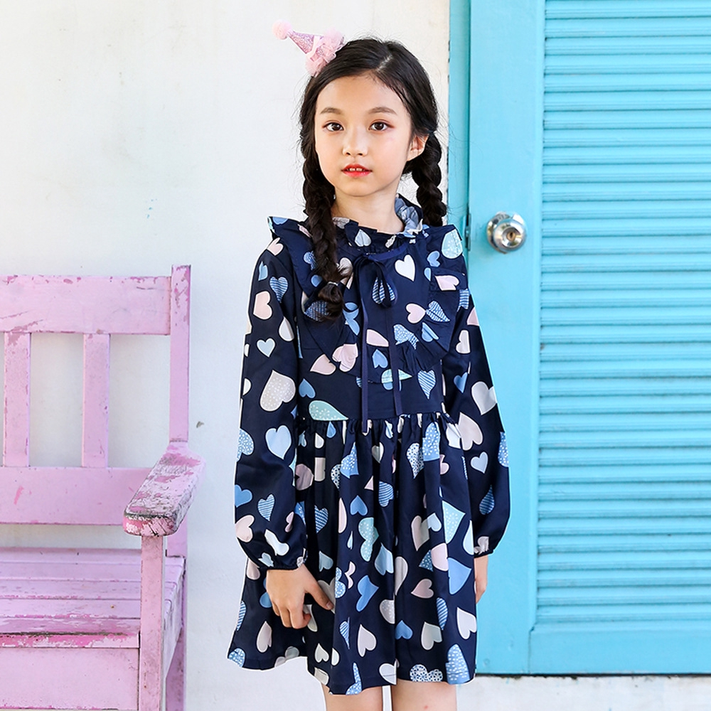 7282b8c13 ProductImage. ProductImage. The 2018 new floral girl's dress Princess ...