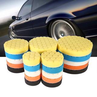 "5x 3//4//5//6//7/"" Buffing Sponge Polishing Pad Kit Waxing Set Car Polisher Sweet"