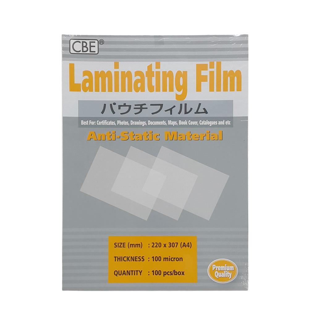 CBE HIGH quality A4/A5/A6 Laminating Film 100MIC