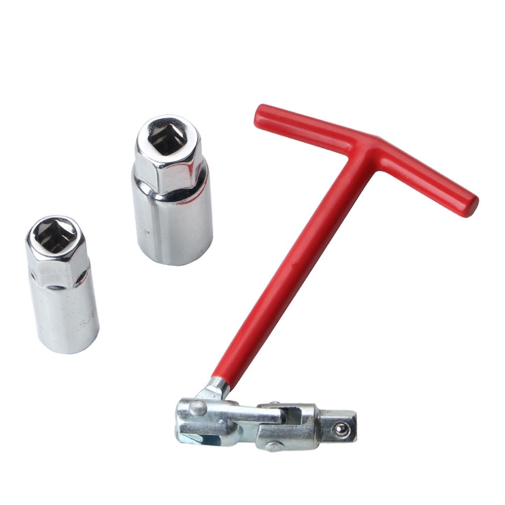 16mm//21mm Spark Plug Removal Tool Install T-Bar Extension Spanner Socket Wrench