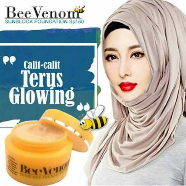 Image result for fungsi bee venom sunblock foundation