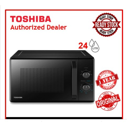 Toshiba 24L Microwave Oven with Digital Timer MW2-MM24PF(BK)
