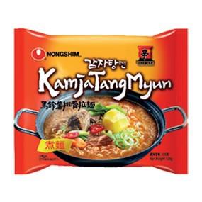 Nongshim Rich Potato Ramen Kamjatang Myun 农心香浓马铃薯拉面 Korea Ramyun/Ramen Instant Noodle 韩国拉面/泡面/快熟面/速食面