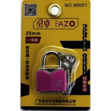 BAZO Premium Quality Anti Rust Padlock 25mm