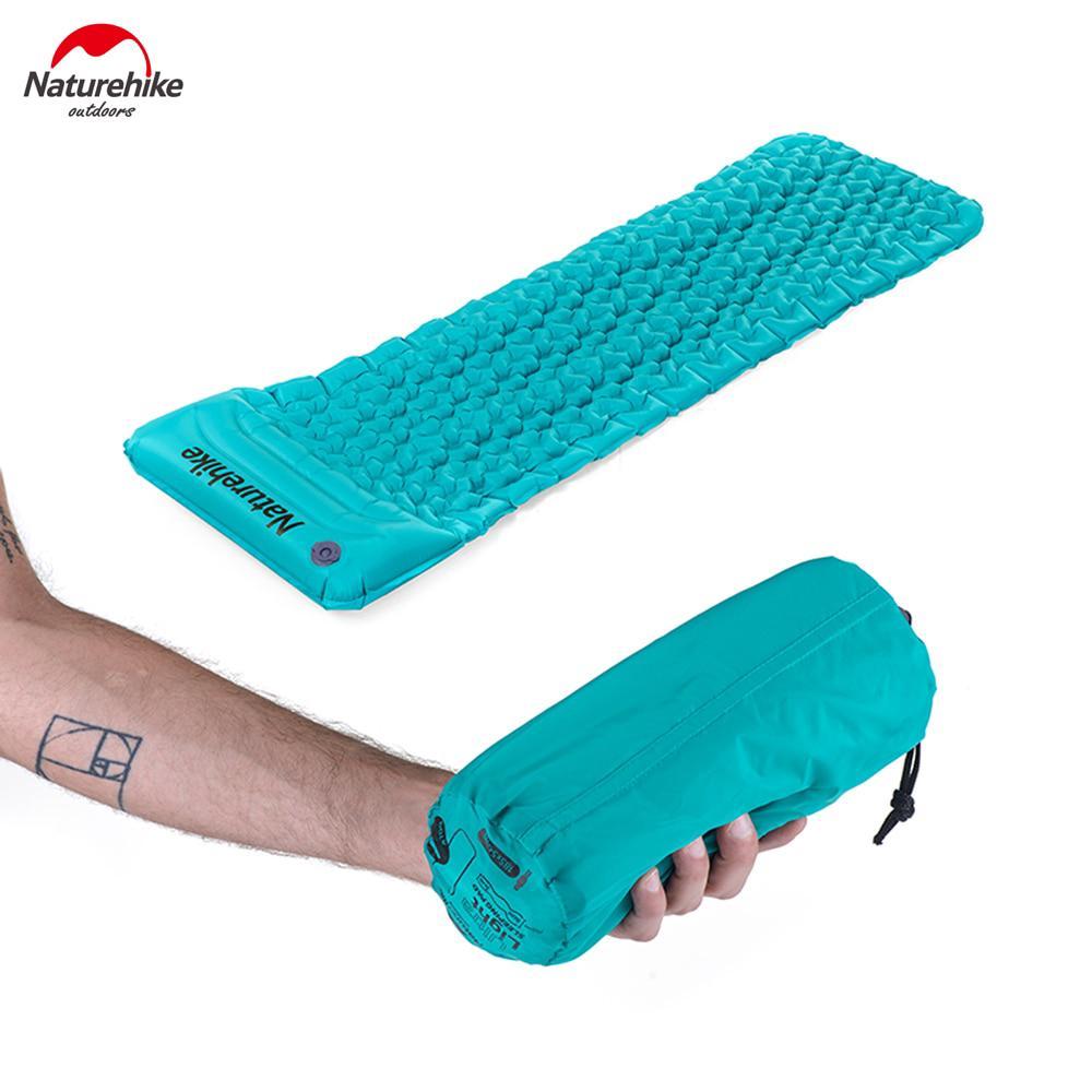low priced 0c2fc 75fb6 NatureHike Ultralight Camping Mat Inflatable Mattress Air Mattress Sleeping  Pad