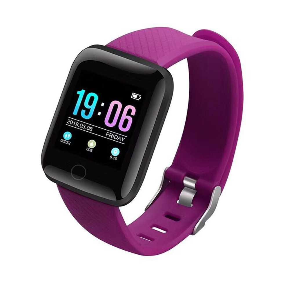 Smart Bracelet 1.3-Inch TFT Color Screen Sports Watch BT4.0 Fitness Tracker IP67 Waterproof Sleep/Heart Rate/Blood Pres