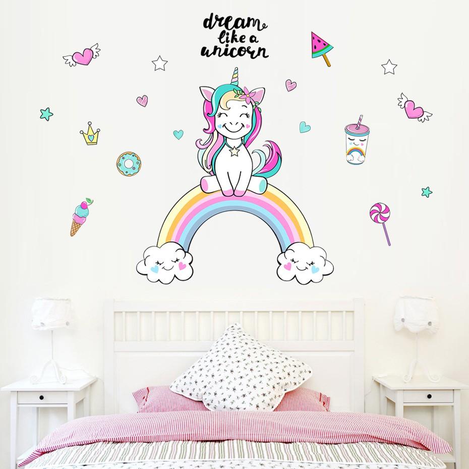 12//set Cute Feather Shaped Wall Sticker Vinyl Art Kids Girls Room Decoration