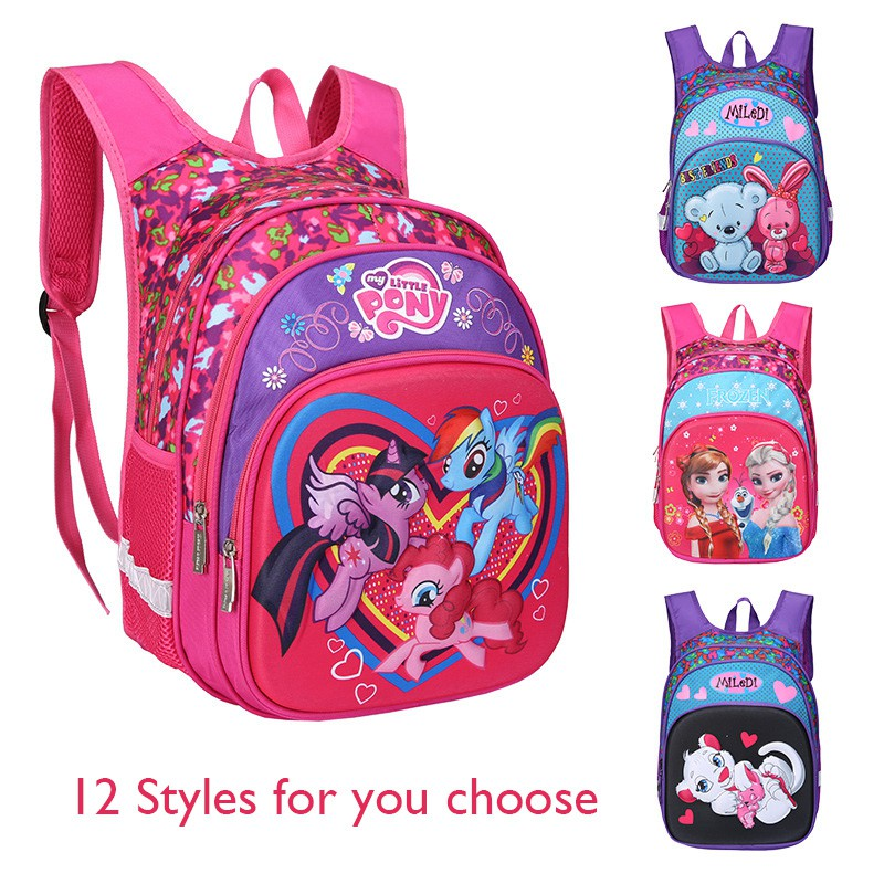 a73e0444ce MC437 RF1 Kids Girl Color Cushion Padded Primary School Bag Student Beg