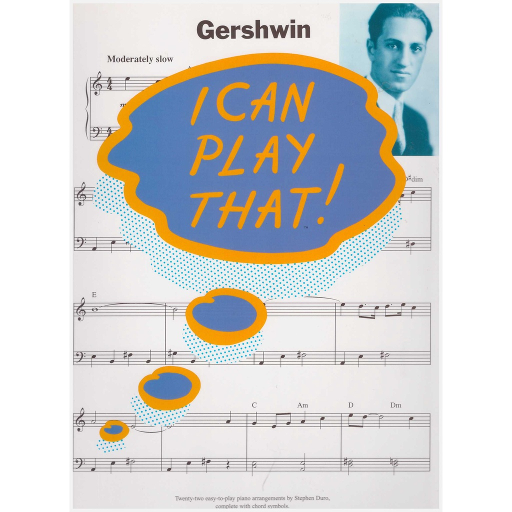 I Can Play That! Gershwin / Piano Book