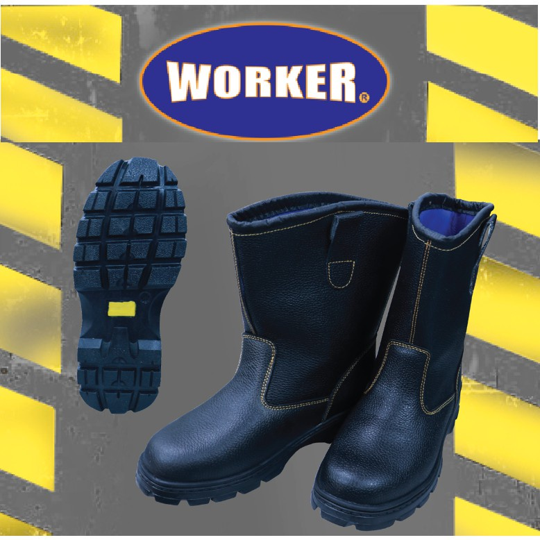 Worker W6000 Safety Boot Kasut Shoes