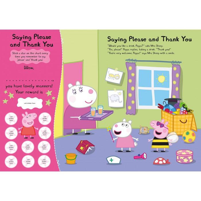 Peppa Pig Well Done Peppa Reward Chart Sticker Book An Oversize Sticker Book Ladybird
