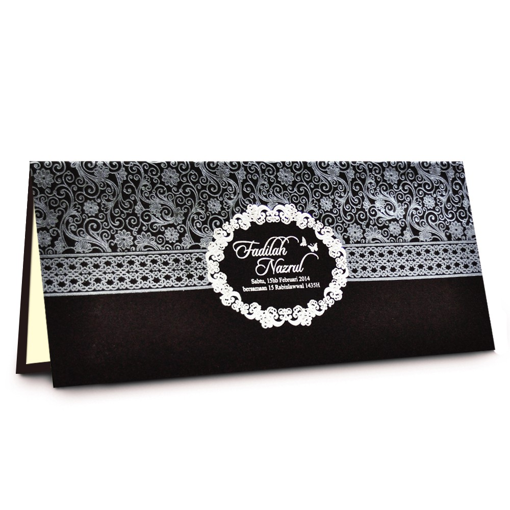 Wedding Invitation Card Kad Kahwin Kad Prima 01 Shopee Malaysia