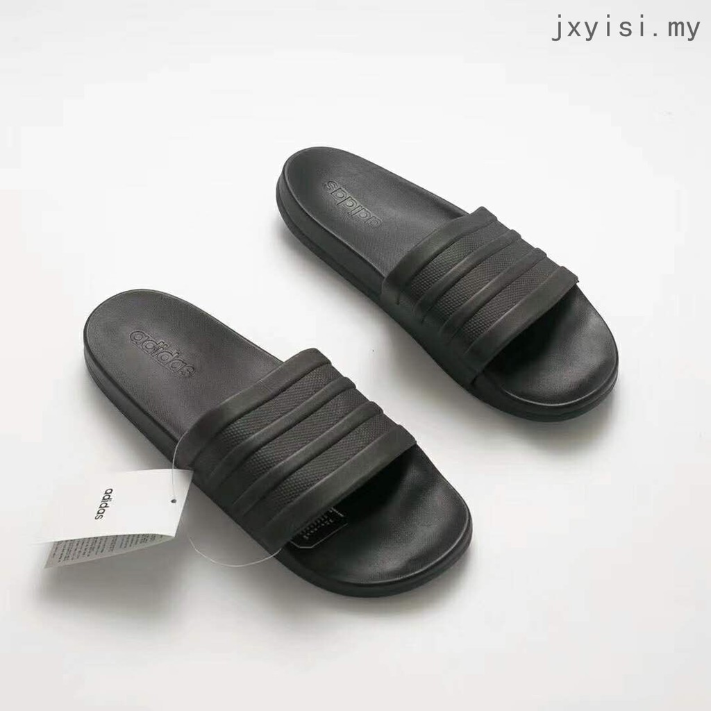 3c5452f4a2fa2d Summer Bathroom Slippers black Non-slip flip flops Adidas ADILETTE CF+ MONO