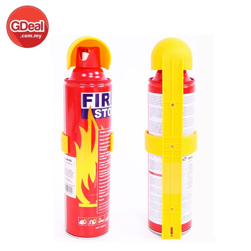 Automotive Fire Extinguisher >> Gdeal Portable Mini Fire Extinguisher Set Of 3 Automotive Car And Home Dual Use 500ml