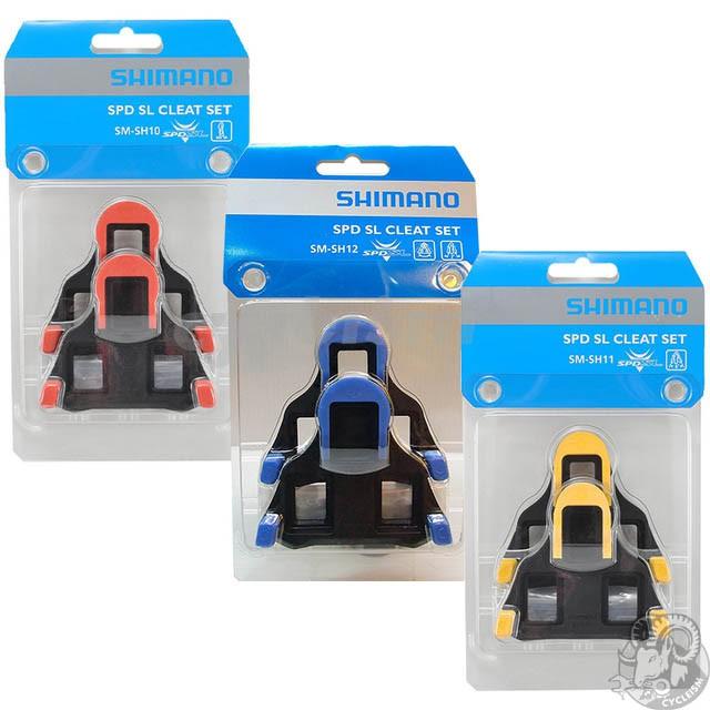 7b69b9a7f890 Shimano spd sl cleat set sm-sh10 / sm-sh11 / sm-sh12 (Road / Track ...