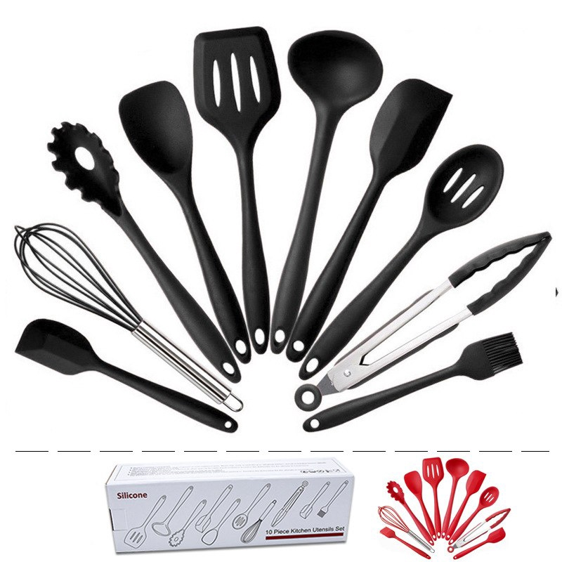 Non Stick Silicone Kitchen Utensils Set