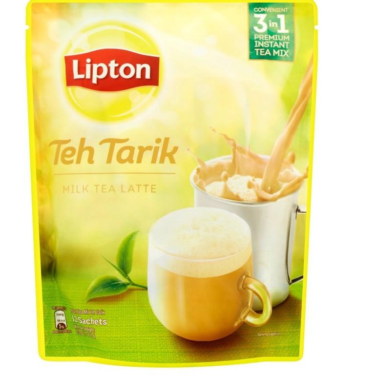 Lipton Teh Tarik Milk Tea Latte (12 x 21g)
