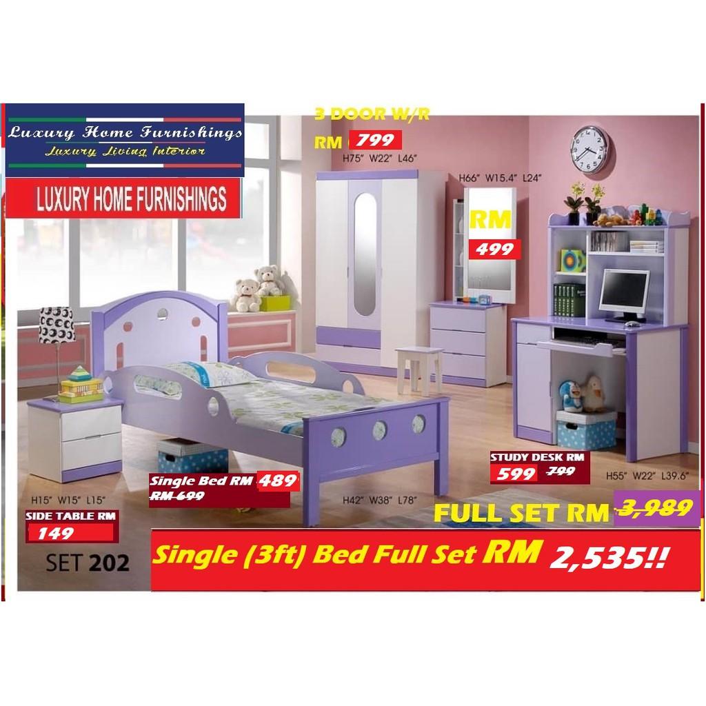 Children Bed Room Set, EXPORT SERIES
