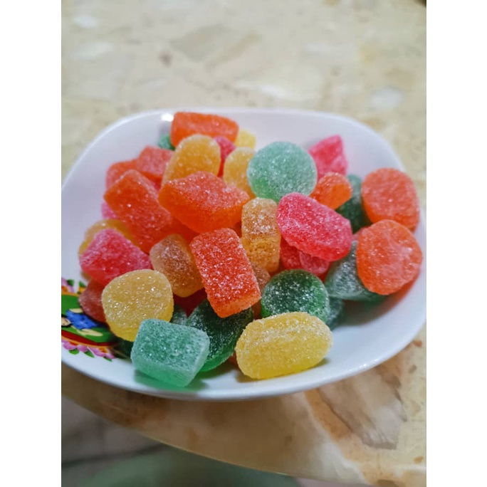 【Ready Stock】Gula Jelly/ Gummy Soft Candy Mix Flavor Mix Colour (Timbang)