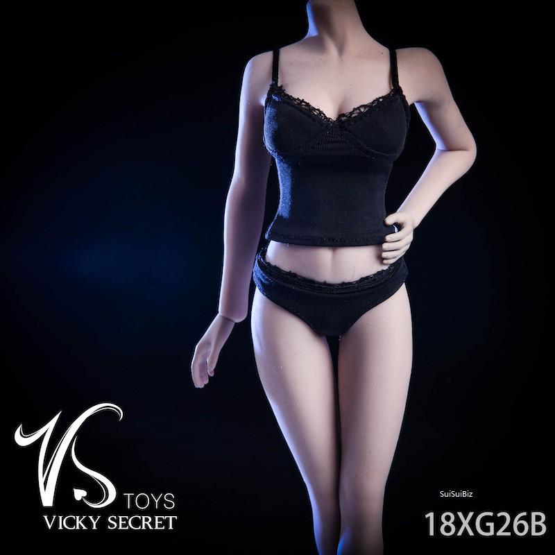 "VSTOYS 18XG26 1//6 Scale Female Underwear Set Model for 12/"" Action Figure"