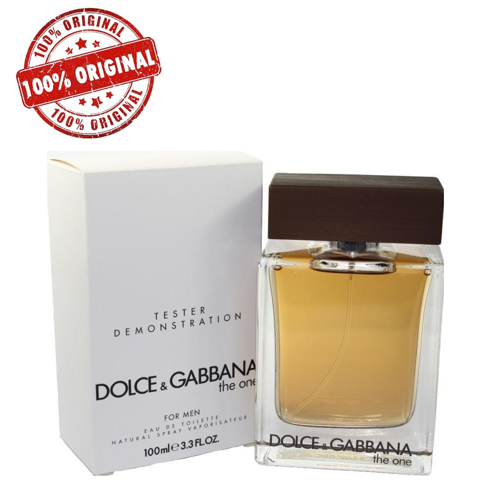 90bc402ed792bb ORIGINAL Dolce   Gabbana The One EDT 100ML Tester Perfume   Shopee Malaysia