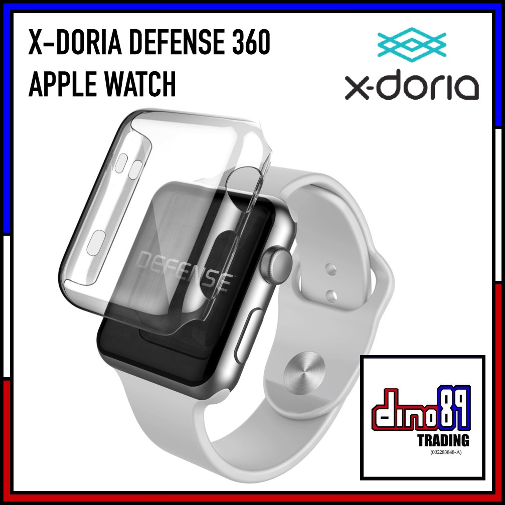 size 40 f3566 80635 X-DORIA Defense 360 Apple Watch Case Series 1 2 3 Nike Edition