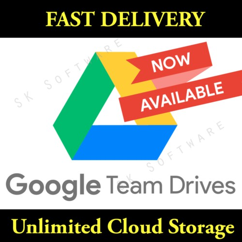UNLIMITED GOOGLE TEAM DRIVE STORAGE FOR YOUR GOOGLE ACCOUNT LIFETIME NOT EDU