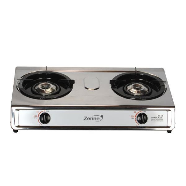 Zenne Stainless Steel Gas Cooker Gas Stove 3.1kW - KDI201C