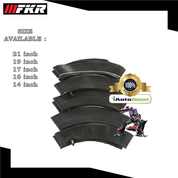 FKR MOTORCYCLE/ MOTOSIKAL TUBES - (2.50-17, 2.75-17) 100% ORIGINAL