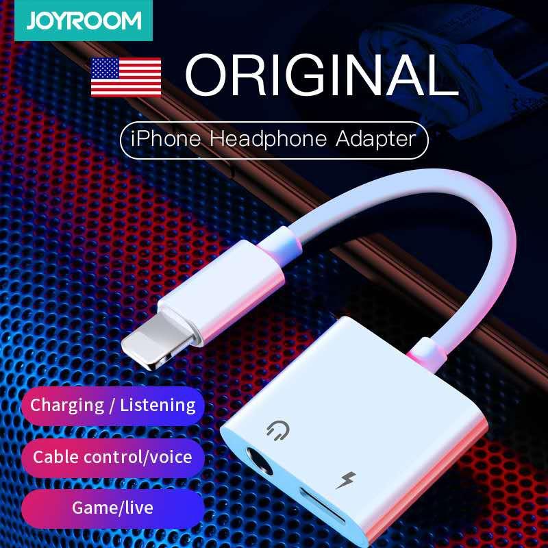 JOYROOM S-Y104 BEN SERIES APPLE 3.5MM AUDIO CONVERTERS (120MM)