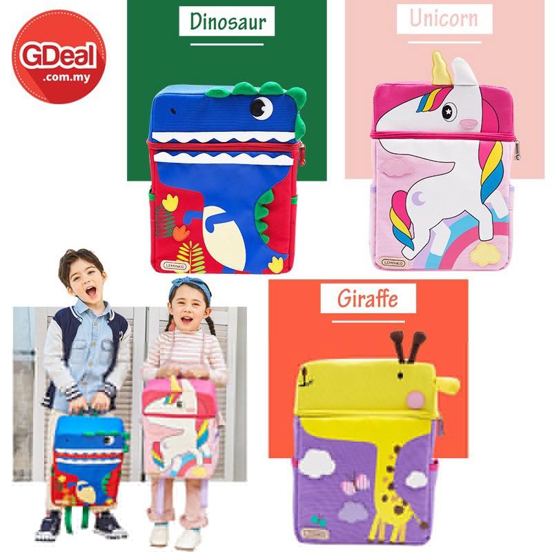 GDeal Cartoon Animal Children's School Bag Kindergarten Cartoon Out Backpack Bag Suitable For 1-6years Old Kids