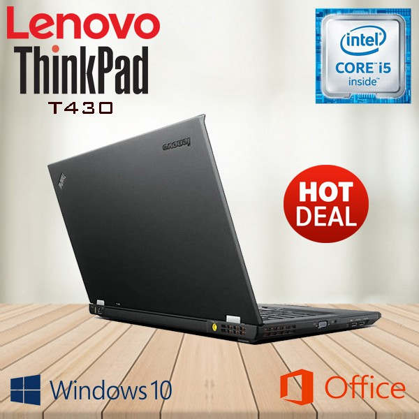 LENOVO THINKPAD T430 CORE I5/ 4GB RAM/ 500GB HDD (ORIGINAL REMANUFACTURED)