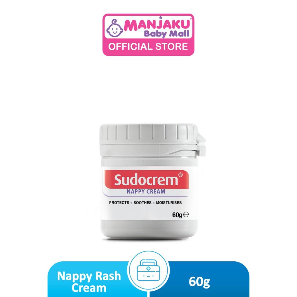 Sudocrem Nappy Rash Cream (60g) - Hypo-allergenic (Model: 100792036)