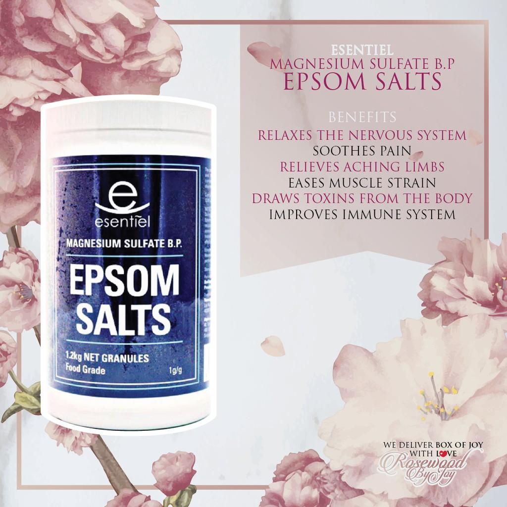 Esentiel Epsom Salts Bottle Shopee Malaysia