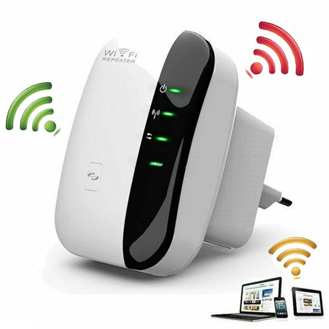 Wireless-N Wifi Repeater 802.11n/b/g Network WiFi Routers ...