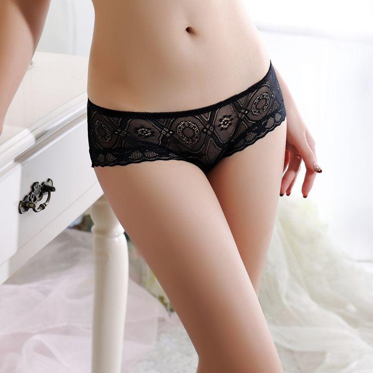 Sexy Underwear Women Panties Transparent Briefs Lingerie Tanga Thong 3233