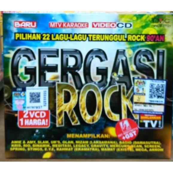 5 Kumpulan Pop Rock Terhebat Ii 2vcd Shopee Malaysia
