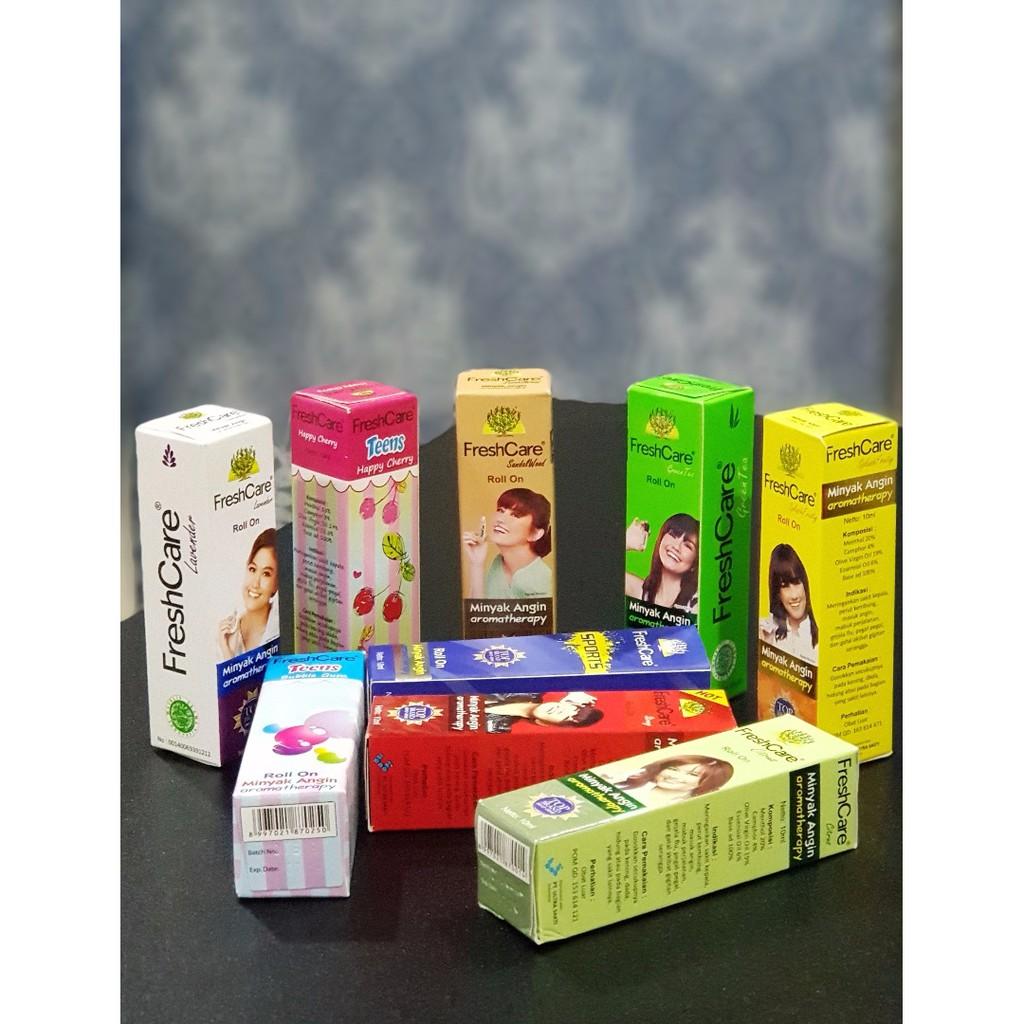 Freshcare Aromatherapy Roll On Minyak Angin Ready Stock Semenanjung Hot 10 Ml 4 Botol Shopee Malaysia