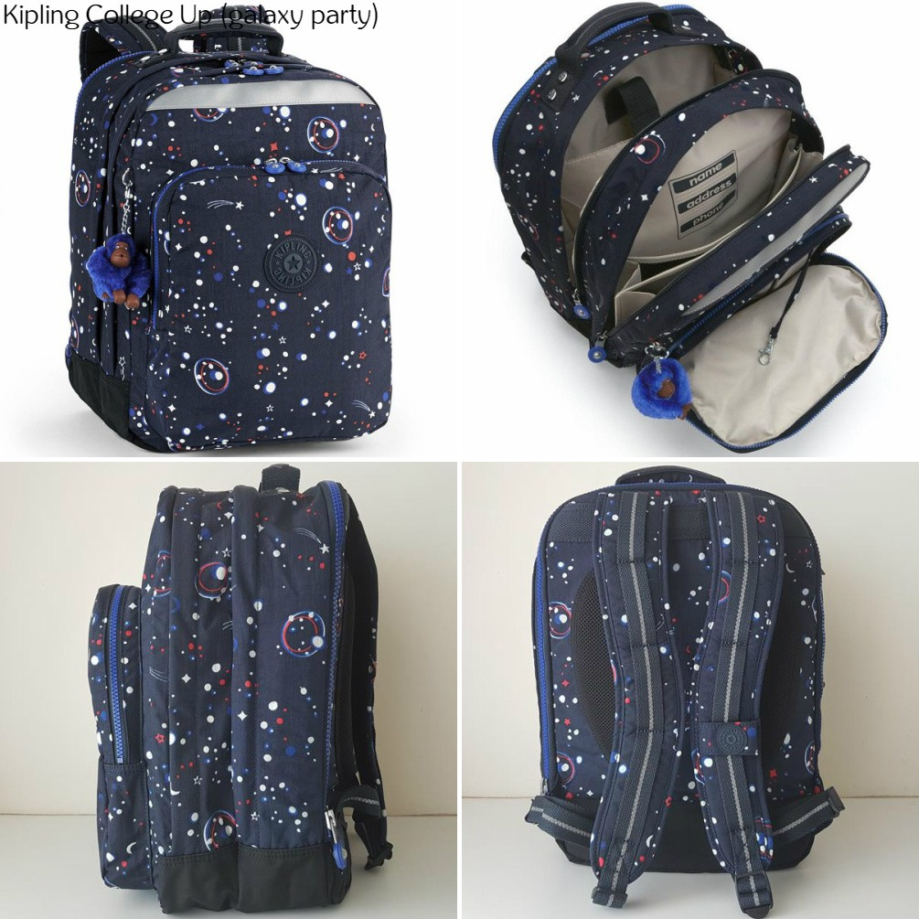 cf1ad88d31d NWT Authentic Kipling College Up Laptop Backpack Bagpack School Uni Work  Bag | Shopee Malaysia