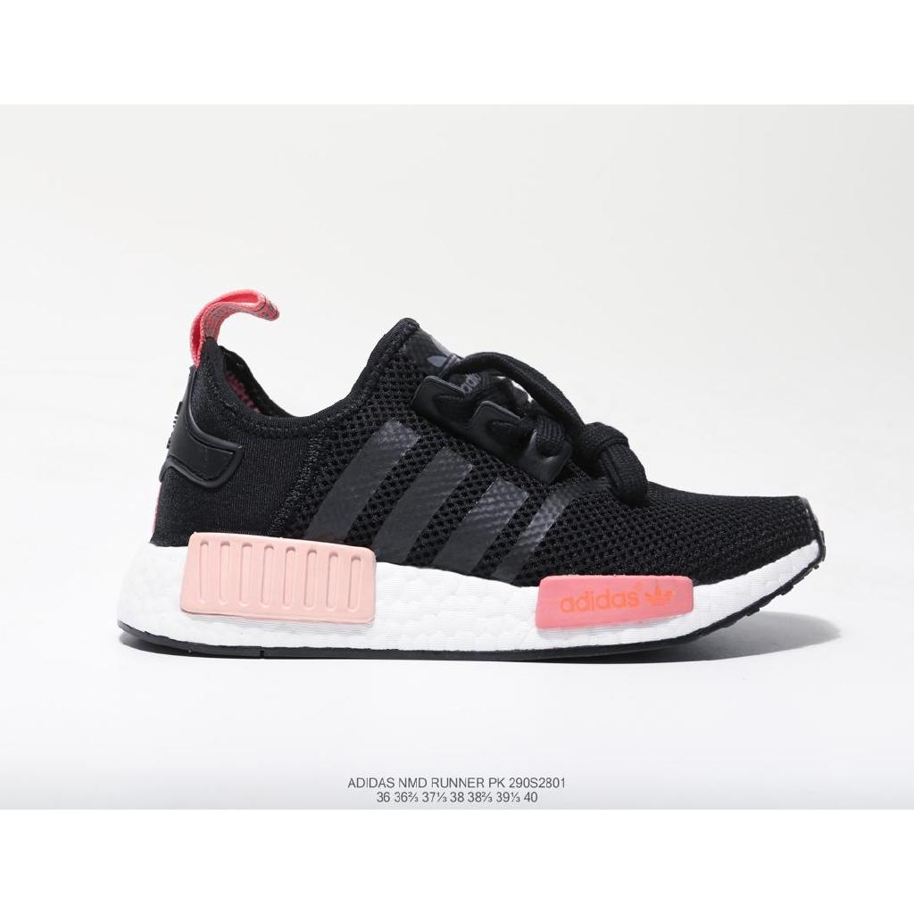 Adidas Nmd Runner competes for 290S3201 boost jogging shoes, black and pink.