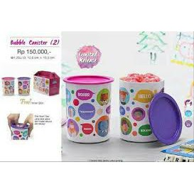 Tupperware 1.25L Canister set