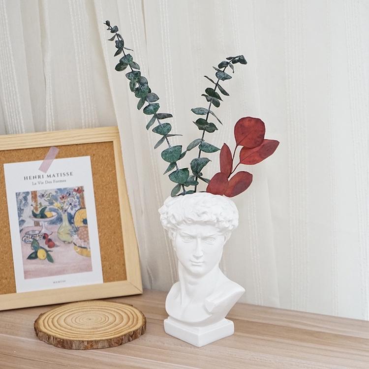 Multi Function Vase Retro Statue Of David Makeup Brush Pen Holder Storage Box Desktop Decoration Decorative Vase Of Dried Flowers Vase Pictures Props Shopee Malaysia